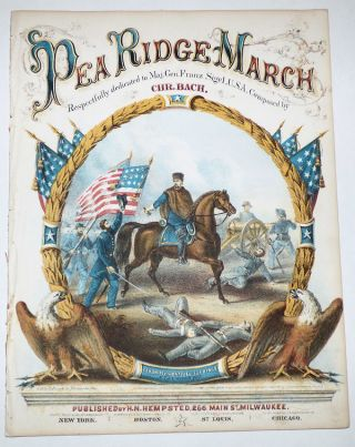 Pea Ridge March. Christopher Bach.