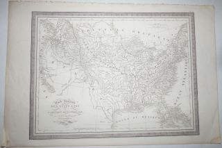 Carte Generale des Etats Unis de L'Amerique Septentrionale (Map No. 33 from Atlas Universel...