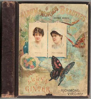 Tobacco card Album of Worlds Beauties: Second Series