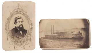Small archive pertaining to Captain James S. Johnson and the U.S. Hospital Steamer Ginnie Hopkins