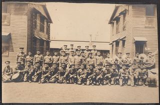 World War One photograph album documenting life in the 13th Infantry Regiment Band