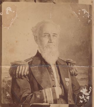 19th century scrapbook kept by Rear Admiral Henry A. Walke, United States Navy for 21 years, 1861-1882