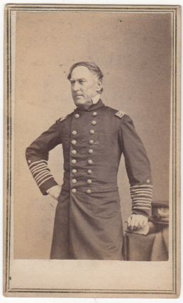 Admiral David G. Farragut Civil War CDV