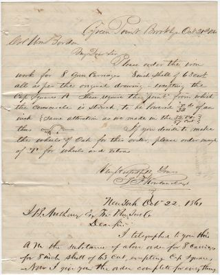 Correspondence between Thomas F. Rowland, Colonel William Borden, and J.B. Andrews regarding the...