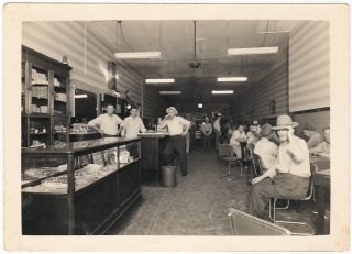Photograph of a gambling den in a small Kansas town. Unknown photographer