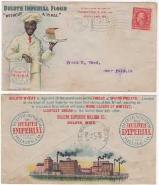 Advertising envelope for Duluth Imperial Flour. Duluth Superior Milling Co