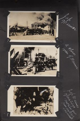 Photograph Album from a member of the 31st Regiment documenting his service protecting the International Settlement during the Shanghai War of 1932 between China and Japan