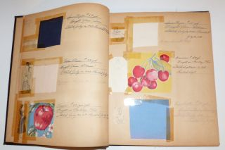Scrapbook: Dresses –etc. I've Made Since May 9th, 1948: A lot of years missing between 1952 to 1979. Dorothy M. Renfer.