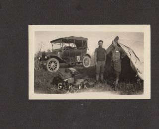 Photograph album documenting two itinerant roughnecks' travel through New York, Pennsylvania, and Ohio until they found jobs at the Woodville Oil Field