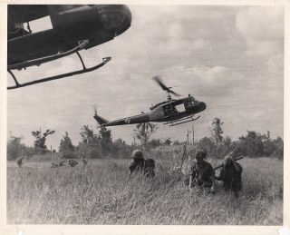 Vietnam War Photograph Album documenting air assault and ground operations conducted by the 9th Infantry Division