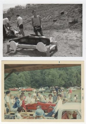 Photographic archive documenting a teenager's two-year Soap Box Derby competition career to include participation in the national All-American Soap Box Derby finals at Akron, Ohio