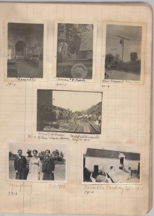 Extensive photographic record of one of the first U.S. telegraph battalions to deploy to France as part of the American Expeditionary Force (AEF) during World War One.