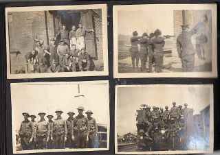 Photograph album documenting the American participation in the Allied Intervention in Russia following World War I and the Russian Revolution