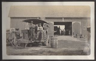 Photograph album documenting an Ohio farm family's life including images of African-American...