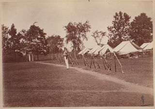 34 large 19th Century photographs of the United States Military Academy
