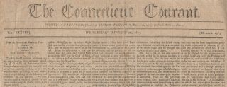 Early newspaper articles discussing the Louisiana Territory following President Jefferson's...