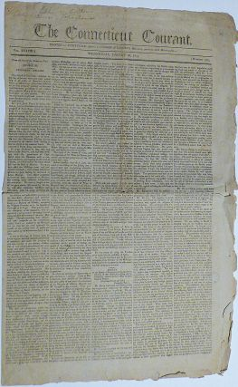 Early newspaper articles discussing the Louisiana Territory following President Jefferson's Second Annual Report to Congress in which he warned of the threat to the United States posed by Spain's cession of the territory to France