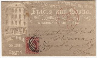 BUSINESS & LABOR] [COLPORTAGE] [PUBLISHING] [RELIGION] An advertising envelope for the American...