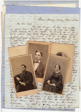 Small archive of family letters and photographs kept by a Stockbridge, Massachusetts woman. Mrs....