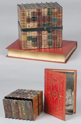 Huntley & Palmers Biscuit Book Tins. Boorne Huntley, Stevens