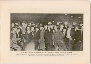 Omaha's Riot, 1919. In Story & Picture
