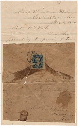 A mysterious, tongue-in-cheek letter from an Alabama Cavalry Sergeant to an Alabama Infantry...