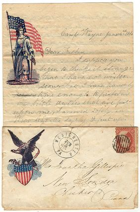 One year of letters home written by soldier in a three-month volunteer unit that defended Washington, DC at the beginning of the war before it reorganized into a three-year unit that fought a number of battles including Antietam, Fredericksburg, and Gettysburg