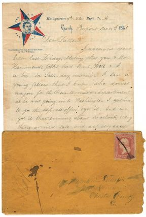 CORRESPONDENCE ARCHIVE OF A UNION SOLDIER DEFENDING WASHINGTON, DC, EARLY IN THE CIVIL WAR