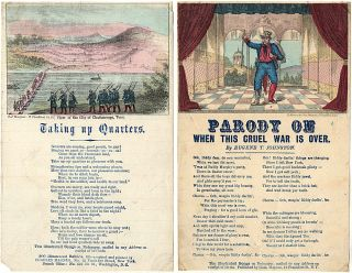 Magnus Song Sheet Booklet: Six Military and Patriotic Illustrated Songs. Elaborately Colored. In a novel form. Series No. 1