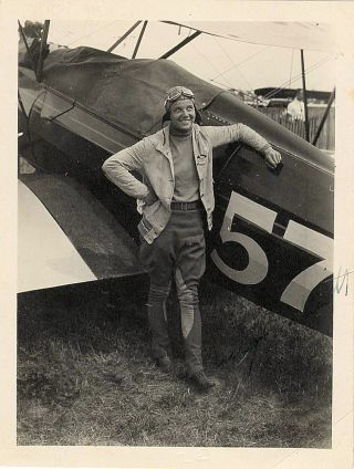 """Small grouping of three items related to the famed American aviatrix Florence E. """"Tree Tops"""" Klingensmith and her record setting 1,078 loop flight at the Wold-Chamberlain Airfield in Minneapolis on June 22, 1931"""