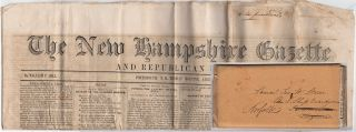 Two newspapers – one in its original mailing wrapper – delivered to the Commanding Officer of...
