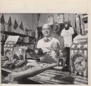 Small group of items relating to Lester Maddox, his Pickrick Restaurant, Underground Atlanta, and the Democratic Party