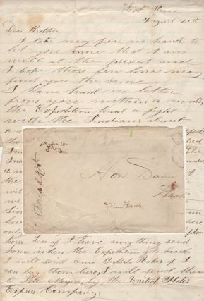 Letter from a trooper assigned to the 6th Iowa Cavalry reporting on General Alfred Sully's...