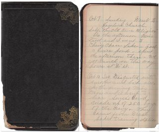 World War I diary by a young, wide-eyed independent woman who left her home in Iowa for a Civil...
