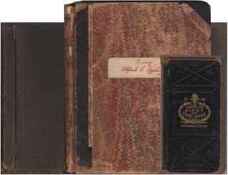 Journals and photograph album documenting an early 20th surveyor's work on eight different...