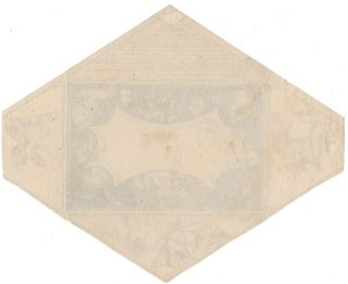 """""""Baloon Mail"""", R. W. Hume of Leith, Comic Envelope No. 2, Unlisted state"""