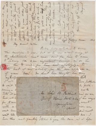"""WE MUST WAIT TILL AFTER ANOTHER VISIT FROM THE PAYMASTER FOR OUR GOOD BEER""; Letter written..."