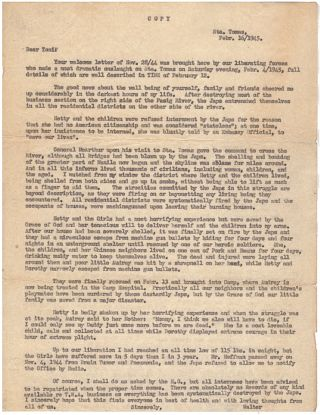 "A WOMAN'S EXPERIENCE DURING THE LIBERATION OF MANILLA DURING WORLD WAR II - ""PRACTICALLY ALL..."