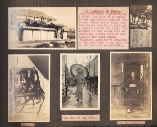 """""""'QUITE A JAP"""" - Photo-Journal documenting an American teacher's employment in Japan and the destruction caused by the Great Kanto Earthquake"""