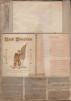 A Two-Year Scrapbook kept by the Commander of Bain's St. Louis Zouaves as it transitioned from an Auxiliary Police Unit into a Company in the Missouri National Guard