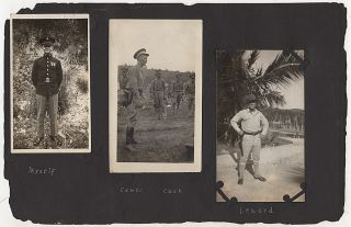 """""""WHY MARINES LIKE CUBA"""" – An archive of approximately 350 photographs and a half-dozen documents relating to a Marine Corporal's eight years of service, primarily in Cuba and Hait"""