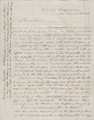 """""""THE CAPTAIN . . . A QUAKER FACE WHICH IS EASILY RIGGED ON, BAFFLES THIS NUMBSCULL."""" A candid and gossipy letter to his wife by a physician serving aboard the flagship of the Home Fleet who would go on to become a Medical Director of the Navy and serve three times as a Fleet Surgeon"""